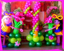 шарики на детском празднике